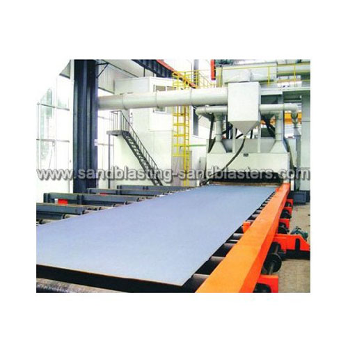 FB-B03 Steel Plate Shot Blasting Machine