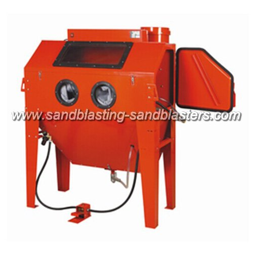 fbc06 blast cabinet 420l for industrial usage