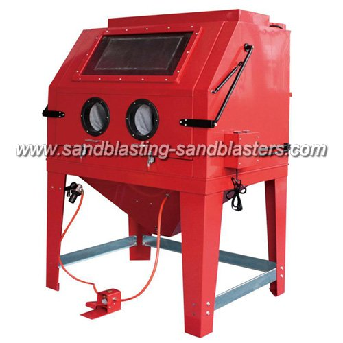 FB-C07 Heavy Blast Cabinet for Industrial Sandblasting Applications 990L