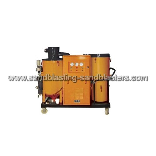 FB-D02 Dustless Automatic Recovery Sandblasting Machine