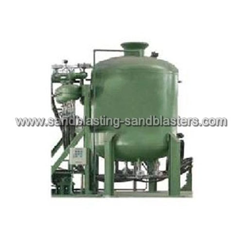 FB-H02 Large High Pressure Sandblasting Machine for Pipeline