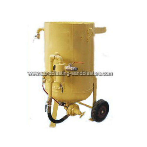 High Efficiency Portable Abrasive Sandblasting Machine M01