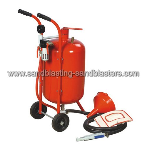 How to choose suitable abrasive sand and sandblasting machine for work piece of different material and for different surface treatment requirements?
