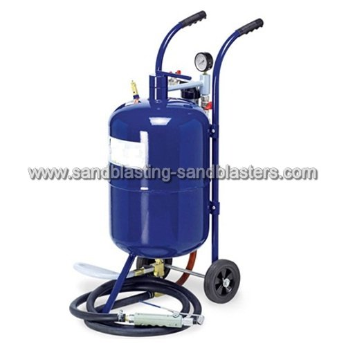 Baking Soda Blasting Machine