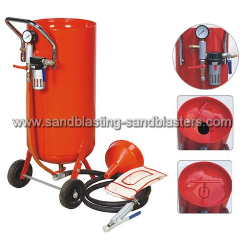 How Does a Sandblaster Work?