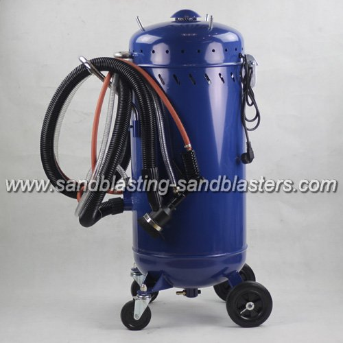 FB-M08 Dustless Sand Blaster with Vacuum System
