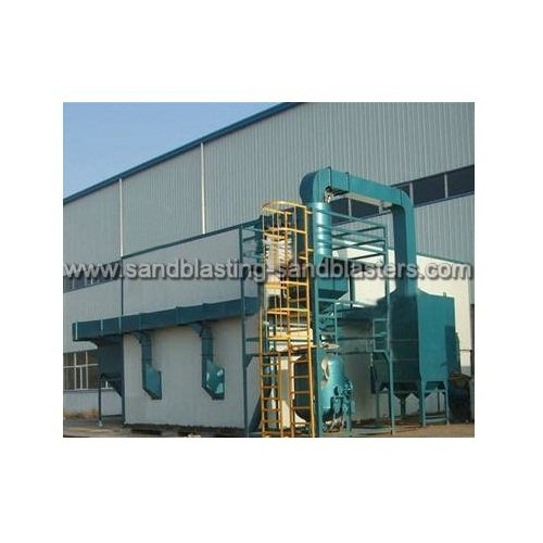 Wind Power Sand Blasting System